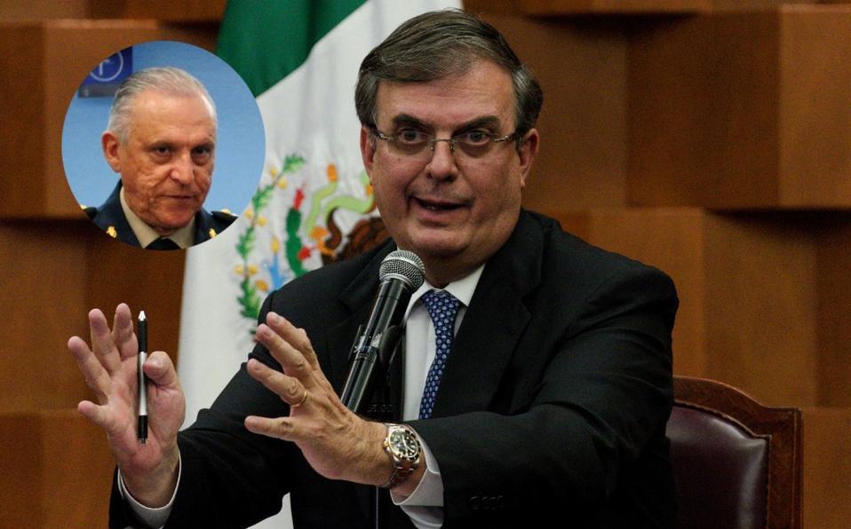 Marcelo Ebrard y Salvador Cienfuegos