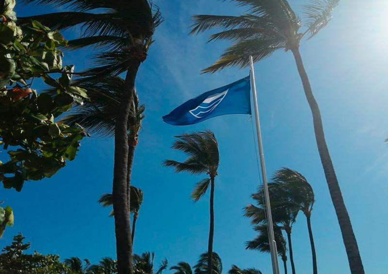 Refrenden el distintivo Blue Flag para el club de playa de Nuevo Vallarta en Bahía de Banderas