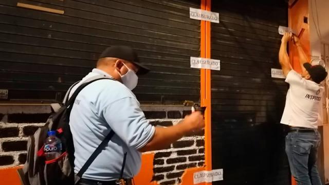 Clausuran bar en Vallarta por no cumplir con protocolos de salud