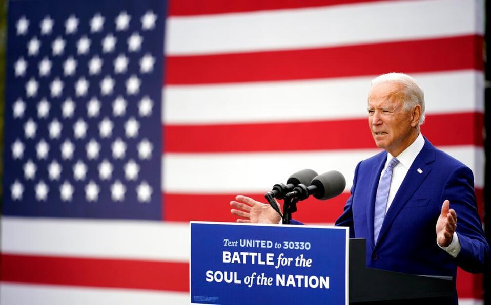 Joe Biden, presidente electo de EU