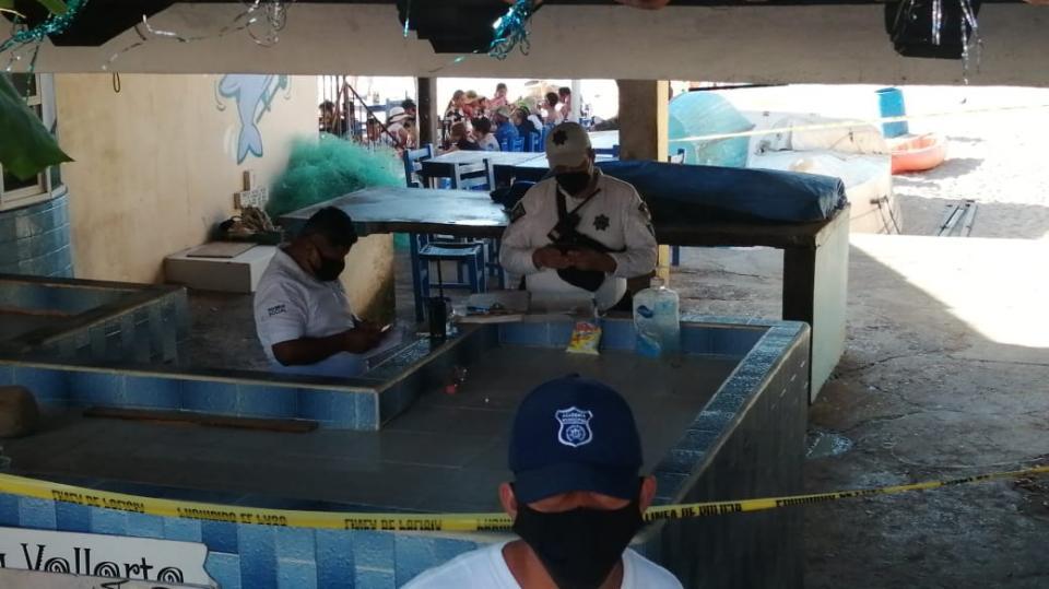 Encuentran cuerpo sin vida en pescadería