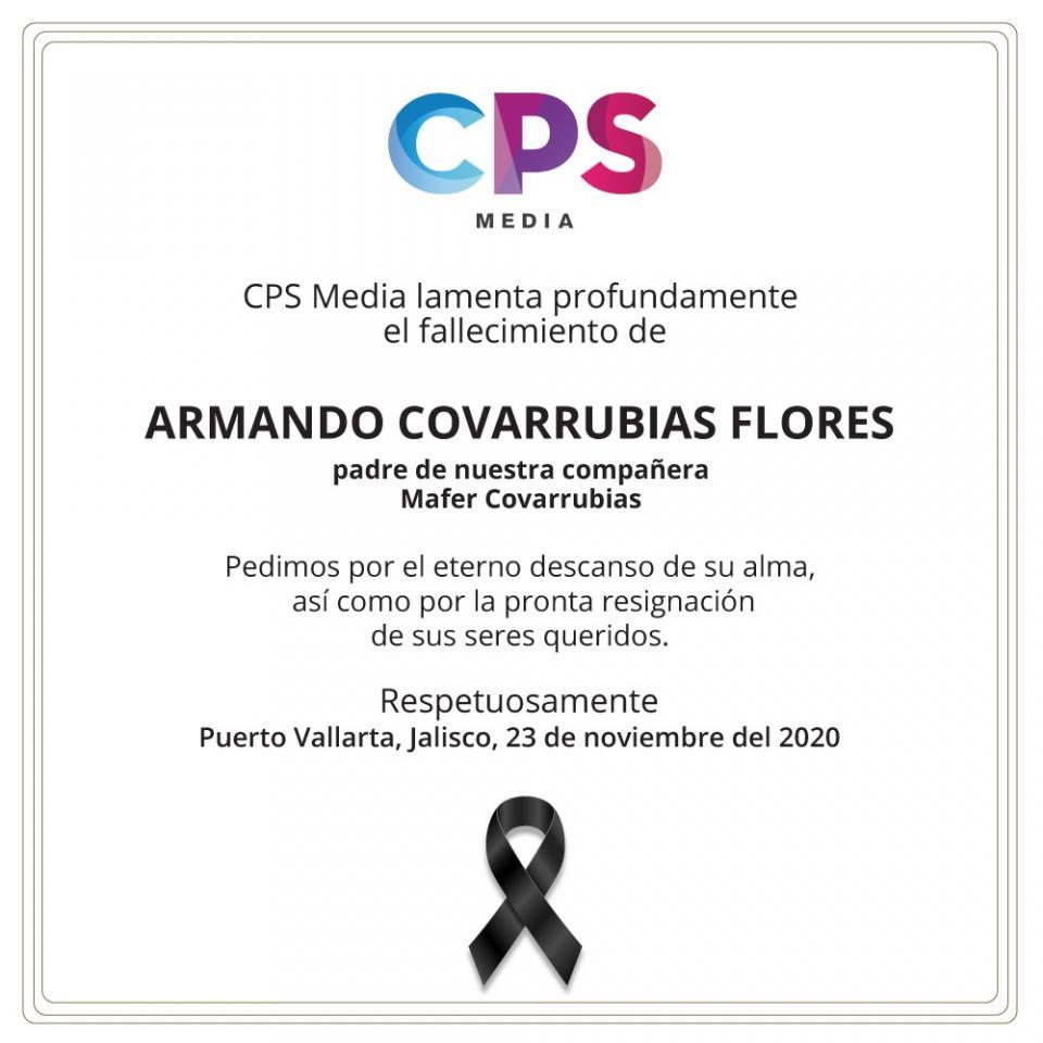 Esquela Armando Covarrubias