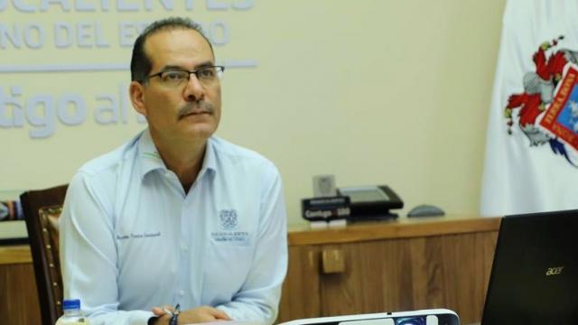 Martín Orozco Sandoval, gobernador de Aguascalientes
