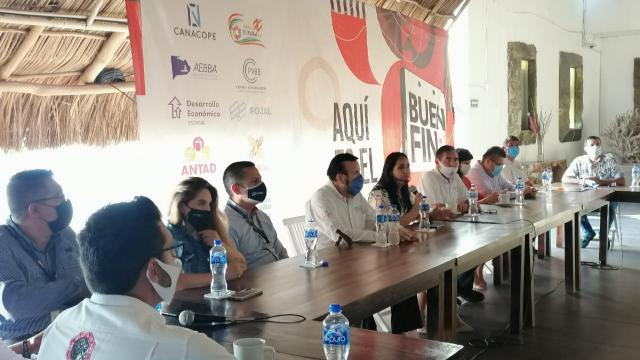 Rueda de prensa Buen Fin en Puerto Vallarta