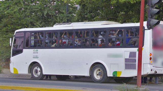 Transporte público refuerza medidas sanitarias ante activación de botón de emergencia