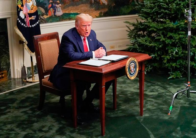 Trump insiste en no reconocer su derrota para la reelección en EEUU