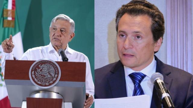 Andrés Manuel López Obrador y Emilio Lozoya
