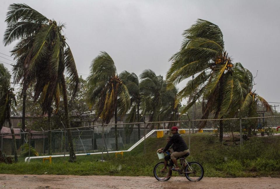 Huracán Iota en Nicaragua