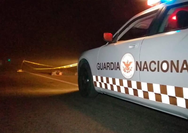 Muere motociclista luego de derrapar sobre Carretera Federal 200