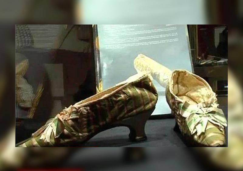 zapato de María Antonieta