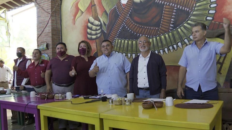 Integrantes de Morena
