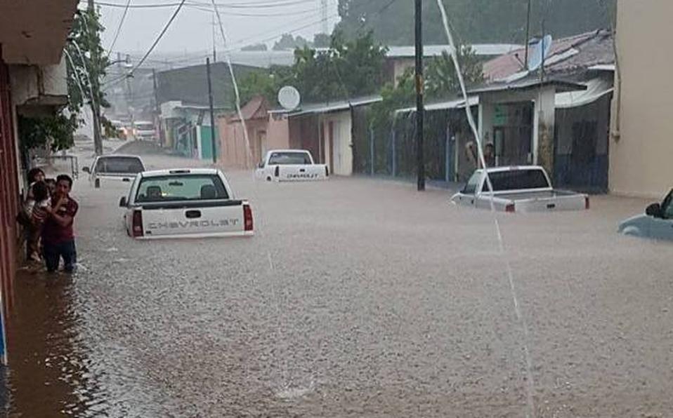 Inundaciones en Chiapas