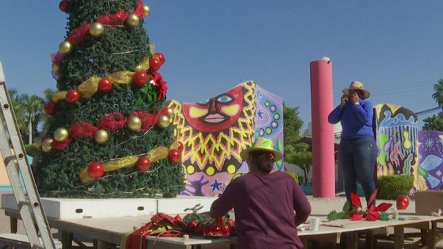 Pese a pandemia llega el ambiente y color navideño a El Porvenir