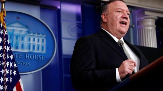 Secretario de Estado estadounidense, Mike Pompeo