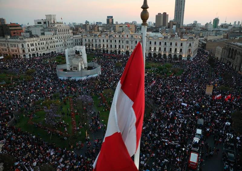 Perú marcha
