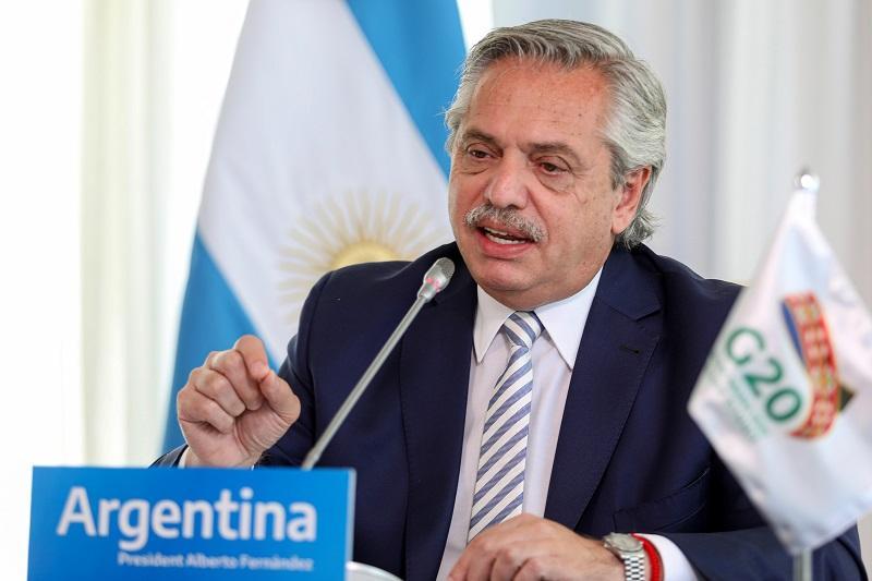 Alberto Fernández, Argentina