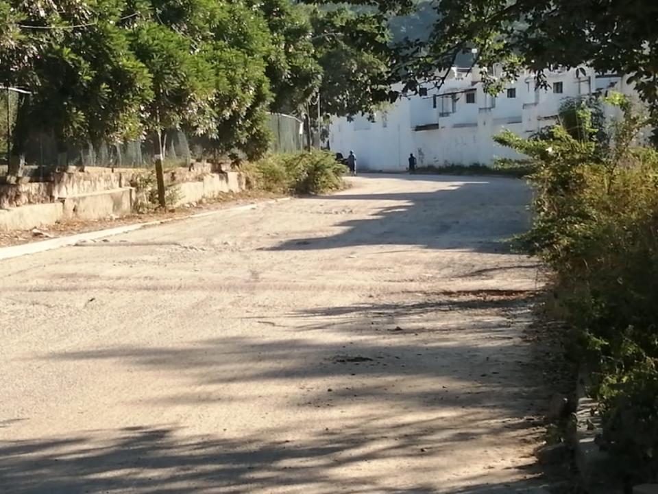 Camino a Playa Grande