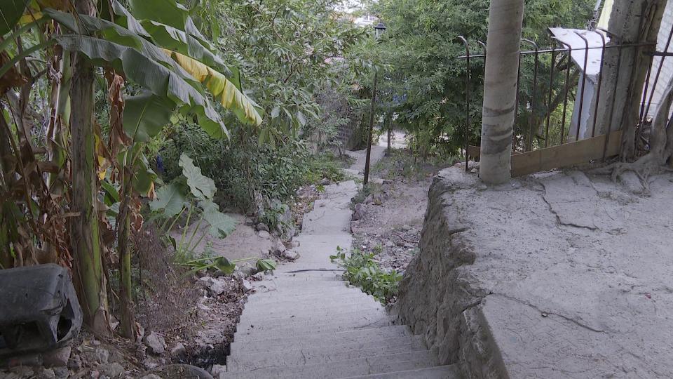 Escaleras en Ramblases