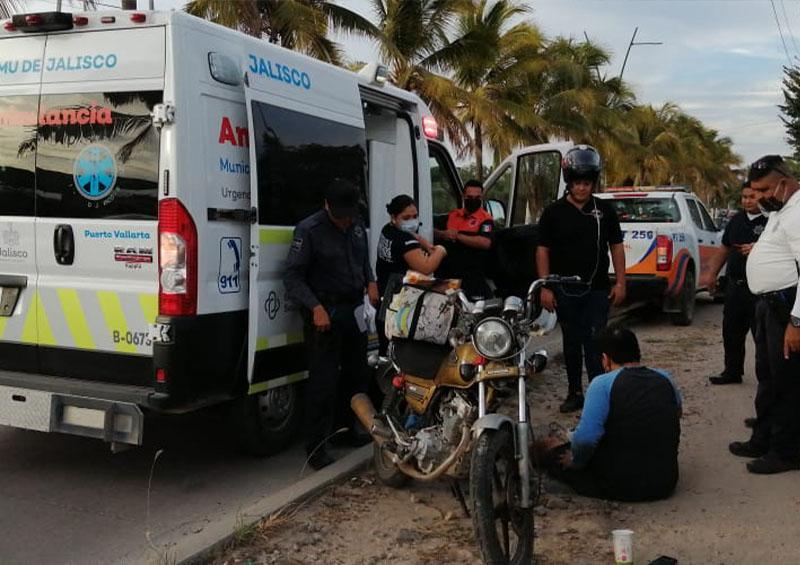 Accidente sobre la avenida México