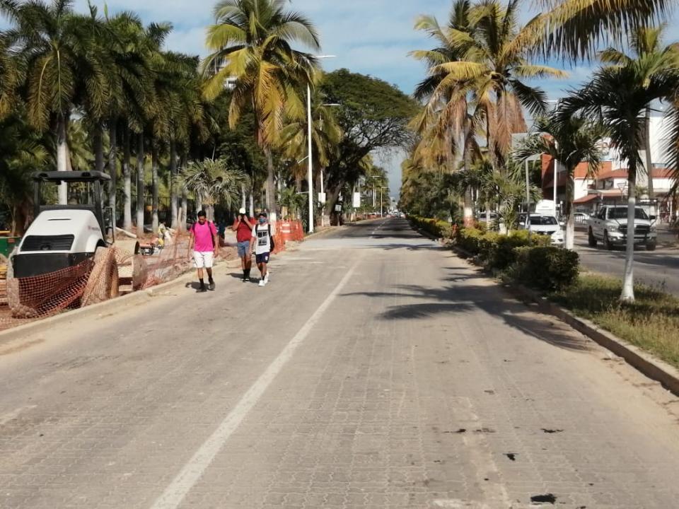 Reparación en avenida Fco Medina Ascencio