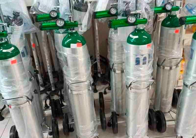 Exigen a Profeco vigilar precios de tanques de oxígeno