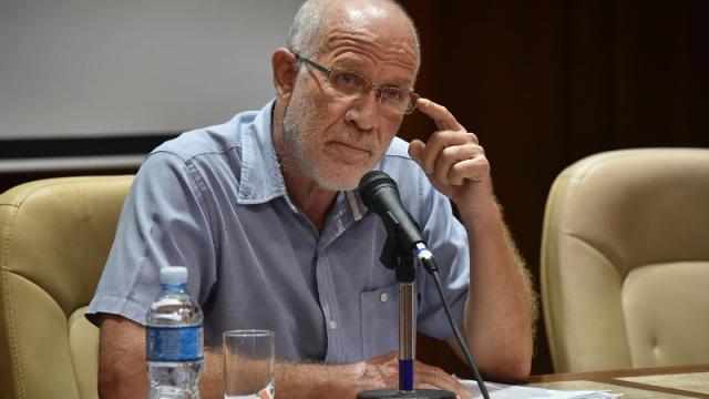 Viceministro de Cultura de Cuba, Fernando Rojas