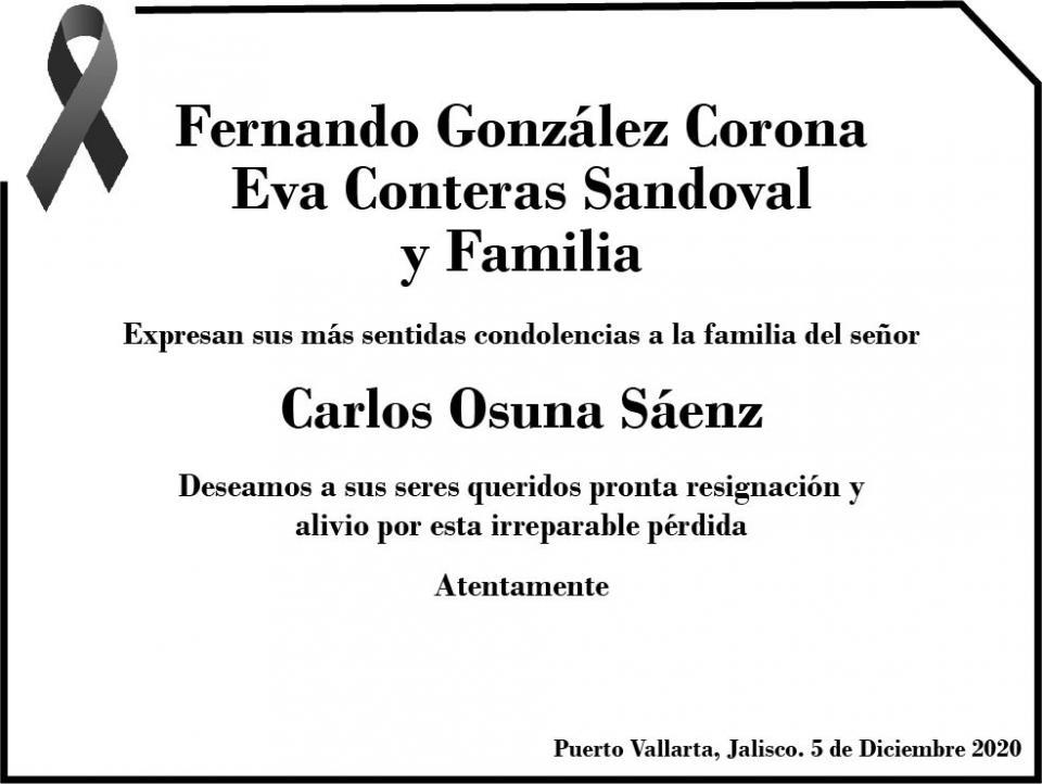 Esquela Carlos Osuna
