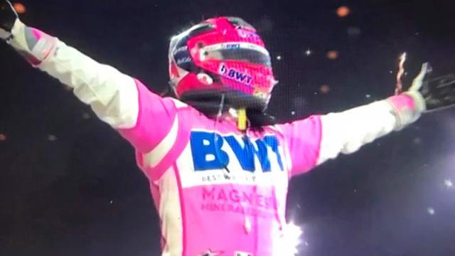 "Histórico triunfo; ""Checo"" Pérez gana el Gran Premio de Sakhir"