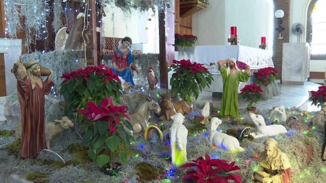 Navidad en iglesia del Pitillal