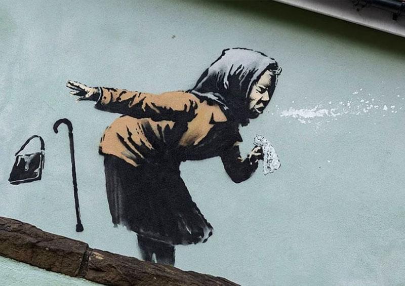 Obra de arte de Banksy