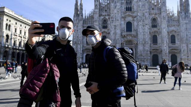 Europa, casos de covid-19