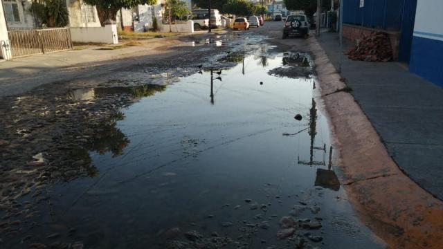 Fuga de agua en Palmar de Aramara