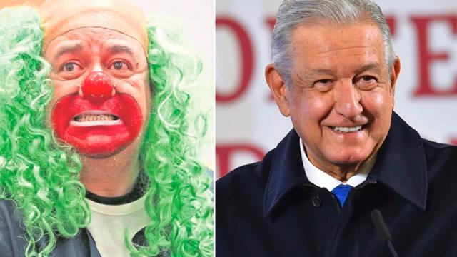 """Las polémicas entre """"Brozo"""" y López Obrador"""