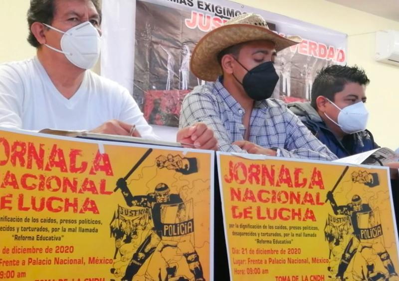 Rechazan víctimas de Nochixtlán disculpa de AMLO y anuncian protesta