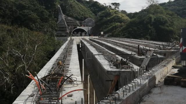 Obra en puente de Guamuchil