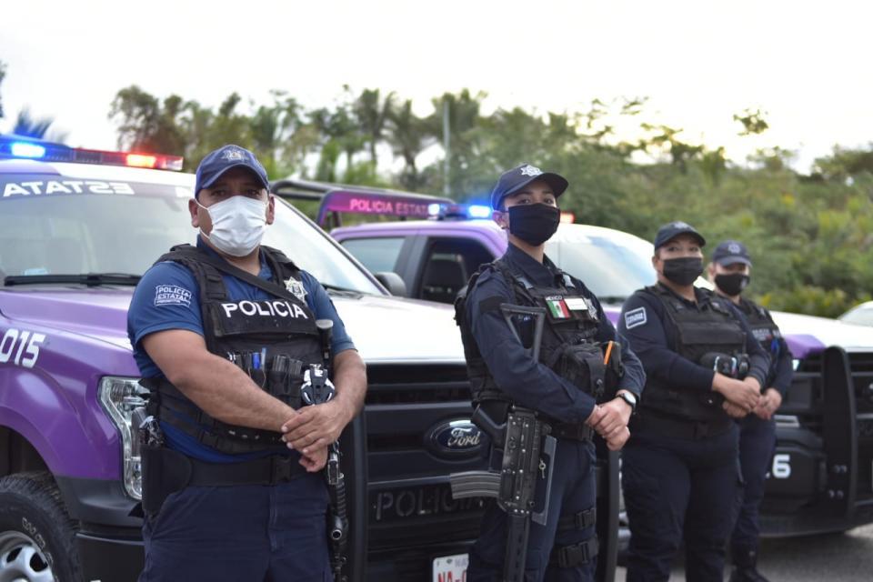 Corporaciones policiacas refuerzan seguridad en Bahía de Banderas