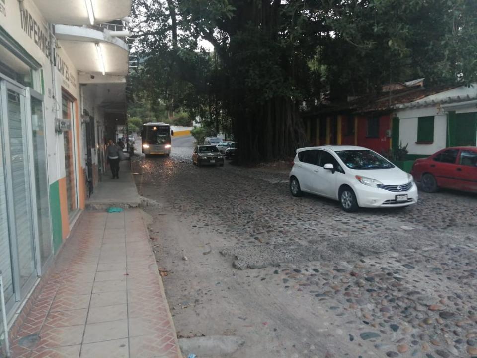 Calles en la Zona Romántica