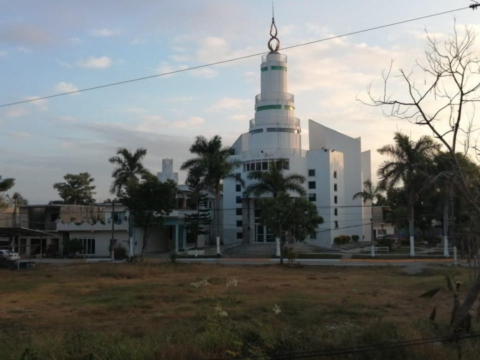 Iglesia Luz del Mundo en Mezcales