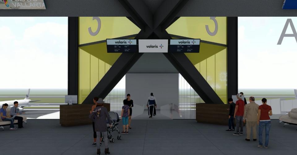 Render terminal de Aeropuerto PV