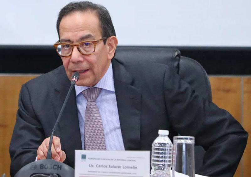 Consejo Coordinador Empresarial (CCE), Carlos Salazar Lomelín
