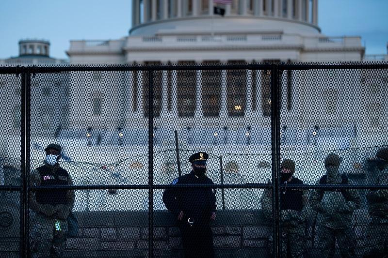 Capitolio después de protesta realizada por manifestantes de Donald Trump