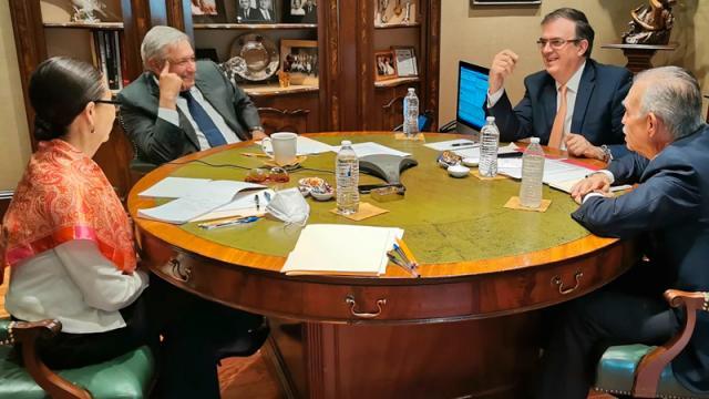 """""""Fue amable y respetuoso""""; AMLO y Biden hablan sobre migración"""