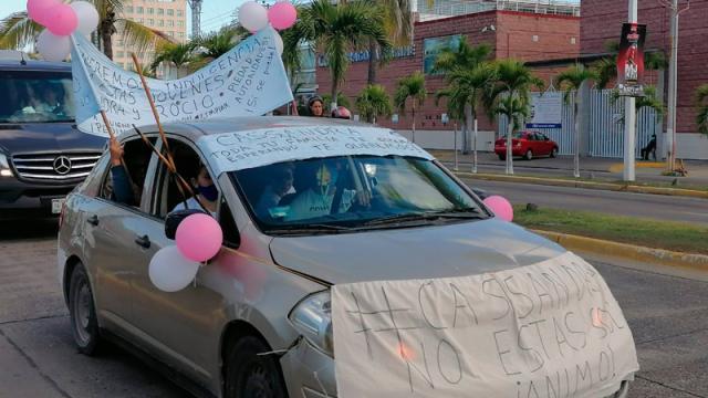 """Se manifiestan contra detención de jóvenes por caso """"Aristóteles"""""""