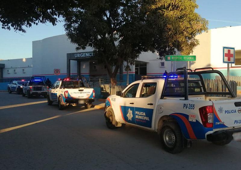 Policía en hospital, tras reporte de hombre armado