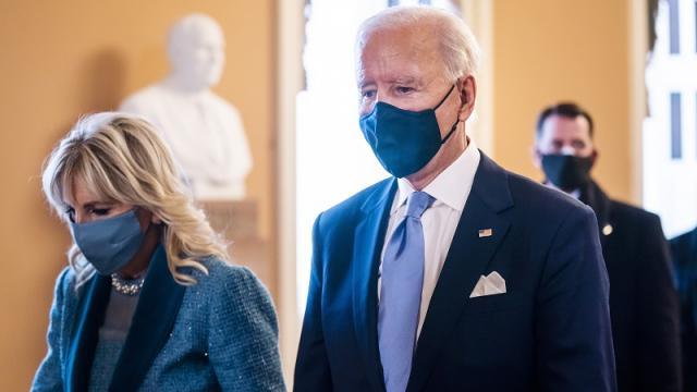 Joe Biden en toma de posesión