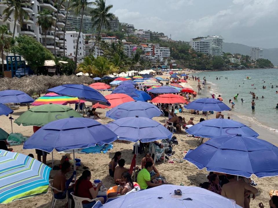 Playa Los Muertos en Puerto Vallarta