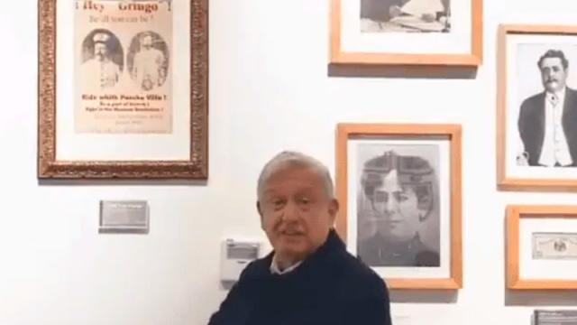 López Obrador envía saludos a ciudadano que cumplió 124 años