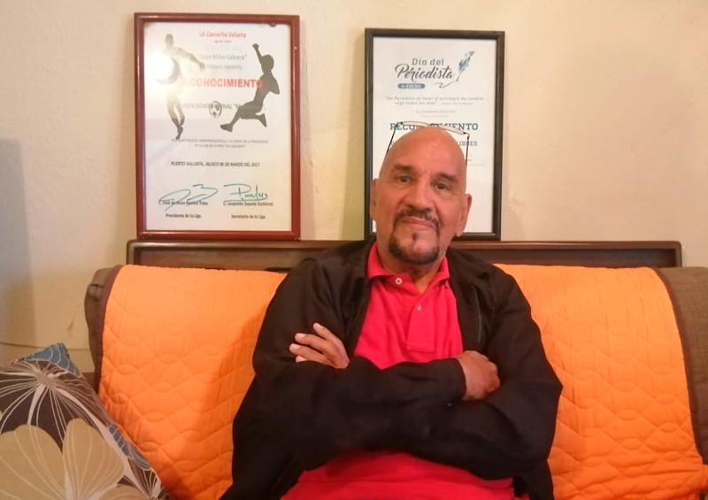 Ruben Gómez Bernal Matanchén con una larga y fructífera carrera en el periodismo