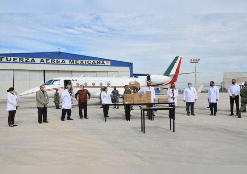 Vacunas contra el covid-19 llega a Nuevo León