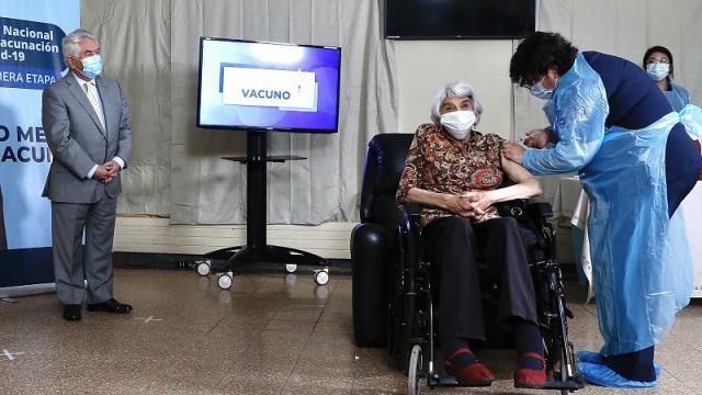 Chile, vacunación contra covid-19